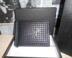 код 10-6385 Зажим, мужской кошелек, бумажник Mont Blanc, кожа, Италия