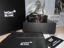 Ремень пояс Mont Blanc мужской, кожа, Италия код 008