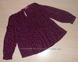 Нарядная блузка, блуза young dimension, 3-4 года, 104 см, вискоза, Оригинал