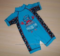 Новый купальный солнцезащитный костюм Matalan 6-9 мес, оригинал