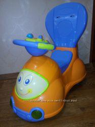 Автомобиль-каталка-качалка-толокар Chicco Quattro 4 в 1