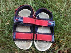 Текстильные сандалии для мальчика, 28 разн