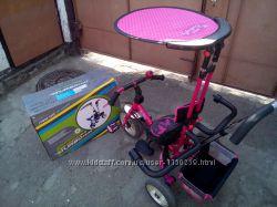 Детский велосипед Turbo trike Miss Butterfly. Бабочки