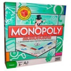Настольная игра Монополия - Monopoly - аналог Hasbro