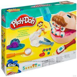 Тесто для лепки аналог Play-Doh мистер зубастик