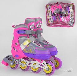 Ролики детские с раздвижным ботинком Best Rollers