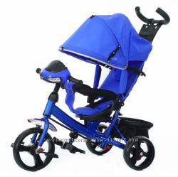 Описание Велосипед трехколесный Baby Tilly TRIKE T-347 Синий