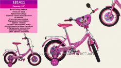 Велосипед 14 дюймов Минни розовый