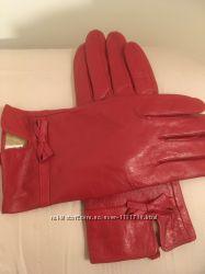 Перчатки женские из натуральной кожи. Обхват ладони 17, 8 см