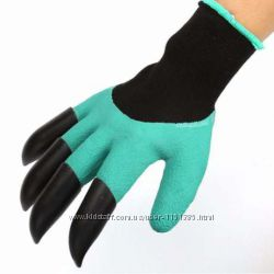 Садовые перчатки garden gloves Акция перчатки с когтями
