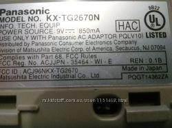 Автоответчик базовый блок радиотелефона Panasonic KX-TG2670 N