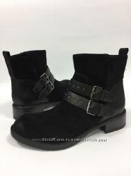 замшавые деми ботинки Clarks размер 37-37, 5