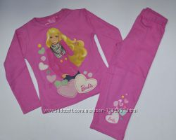 Пижама Барби Barbie Disney для девочек рост 86 - 98 см, Disney