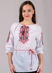 Женская вышиванка Украиночка размеры 42-58