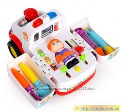 Интерактивная машинка Скорая помощь Huile Toys 836