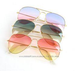 Солнцезащитные очки авиатор сердечки кошечки 6 моделей