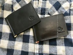 Стильный зажим для купюр с отделениями под визитки, кредитные карты