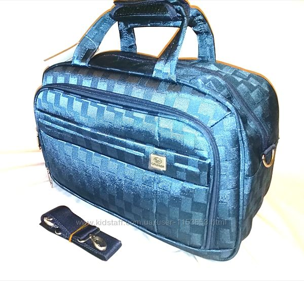 Сумка на ручку чемодана дорожная качественная CRUISER Турция, цвета разные