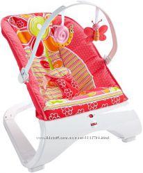 Кресло-качалка Fisher-Price Comfort Curve Bouncer Floral Confetti
