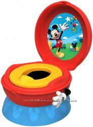 Mickey Mouse детский музыкальный горшок 3-in-1 Celebration Potty System