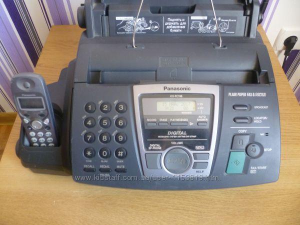 Продам телефон факс Panasonic KX-FC195