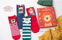 Женские носки Caramella. Подарочный набор. 4 пары. Прикольные носки