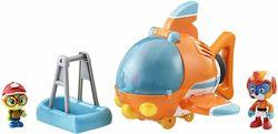 Отважные птенцы - Свифт, Тимми и самолет со световыми эффектами.