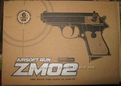 Пистолет ZM 01. 02. 03. 04. 05. 06 металл  пластик