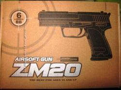 Пистолет ZM 20. 21. 22. 23. 25. 26 металл  пластик