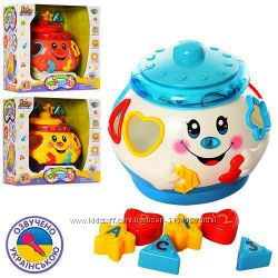 Музыкальный волшебный горшочек-сортер 0915 Joy Toy