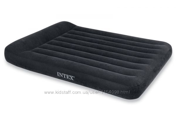 Полуторный надувной матрас Intex 64142, 137 x 191 x 25 см.