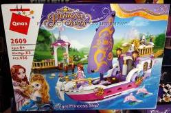 Конструктор Brick Enlighten 2609 Корабль принцессы ангелов 456 деталей