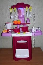 Детская игровая кухня 2728 L посуда, звук, свет, на батар. , Течет водичка