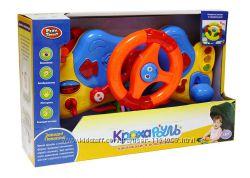 Развивающая игрушка Автотренажер для малышей 7324 с креплением для коляски