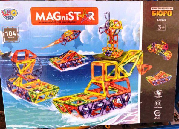 Магнитный конструктор LT 1004 Морская техника, 104 детали