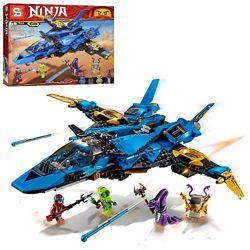 Конструктор Senco SY 1254 Ninja Ninjago Ниньзяго Штормовой истребитель Джея