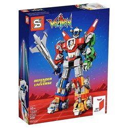 Конструктор SY 1130 Робот Вольтрон Защитник Вселенной 2334 дет