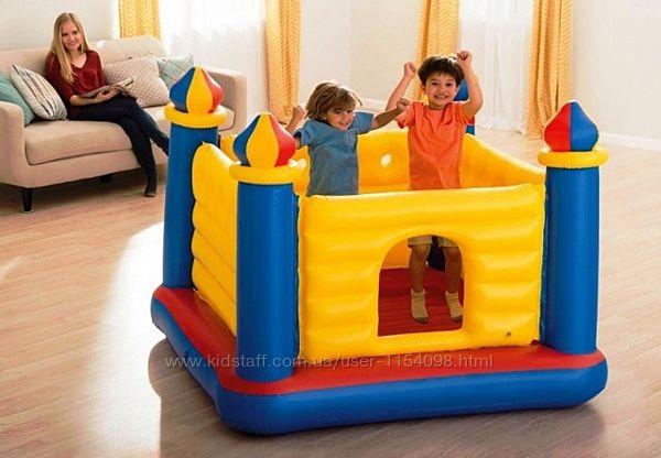 Детский надувной батут Intex 48259 Замок 175 х 175 х 135 см