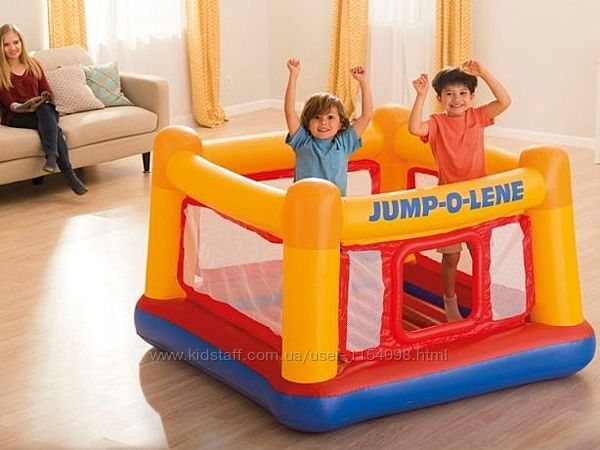 Детский надувной батут Intex 48260 Jump-o-Lene 174х174х112 см