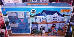 Игровой домик Вилла Happy Family 012 11 аналог Sylvanian Families , флоксов