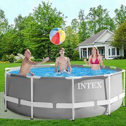 Каркасный бассейн Intex 26706 Prism Frame 305 x 99 см насос 2 006 л/ч, лест