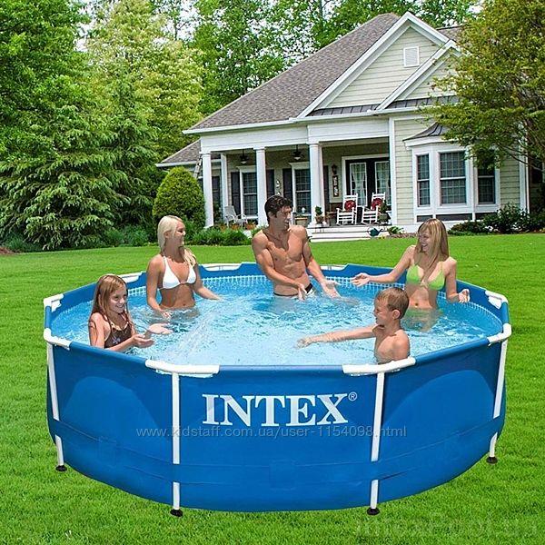 Каркасный Круглый бассейн Intex 28200, 305 x 76 см