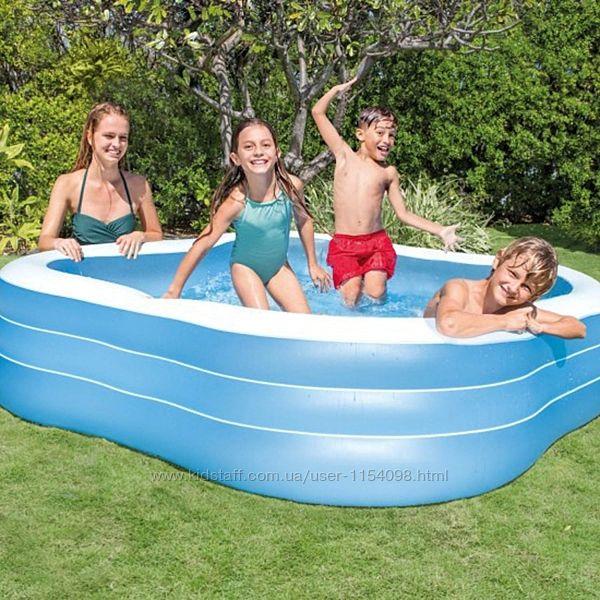 Детский надувной бассейн Intex 57495 229х229х56 см