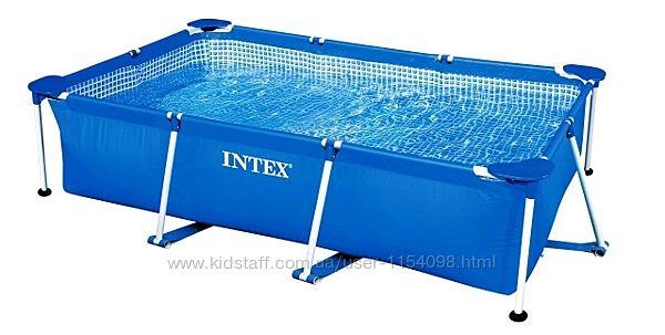 Прямоугольный бассейн каркасный Intex 28271 260х160х65 см