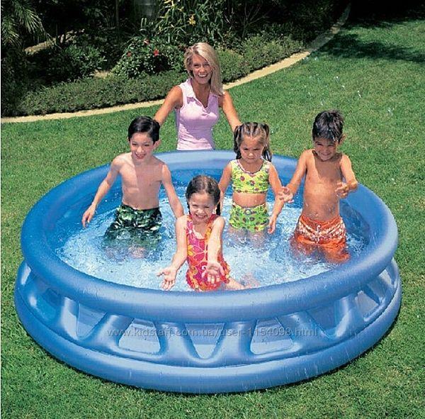 Надувной детский бассейн Intex 58431 Летающая тарелка 188х46см