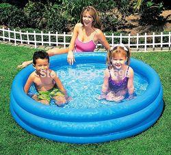 Детский надувной бассейн Intex 58426 Кристал 147х33 см