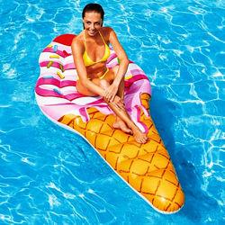 Пляжный надувной матрас плот Intex 58762 Мороженое, 224 х 107 см