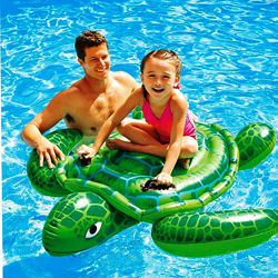 Детский надувной плотик Intex 57524 Черепаха 150 х 127 см