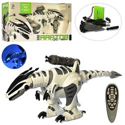 Динозавр на радиоуправлении 5474 аккумулятор сенсорн, 66см, муз, звук, свет