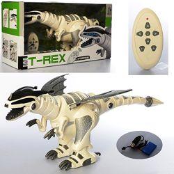 Динозавр интерактивный 5476 на радиоуправлении, аккумулятор 67 см, муз, зву